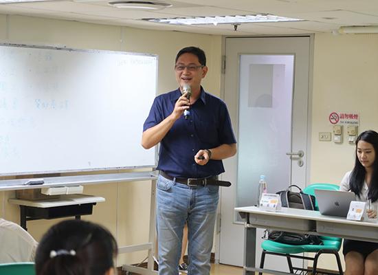 桃園市動保處處長陳英豪分享「桃樂志工」成功的方式。
