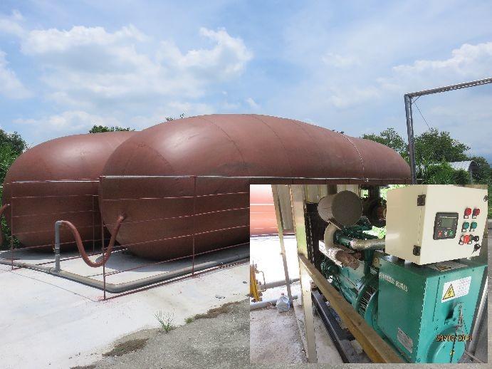 台南市積極推廣養豬沼氣發電。圖/ 台南市政府提供