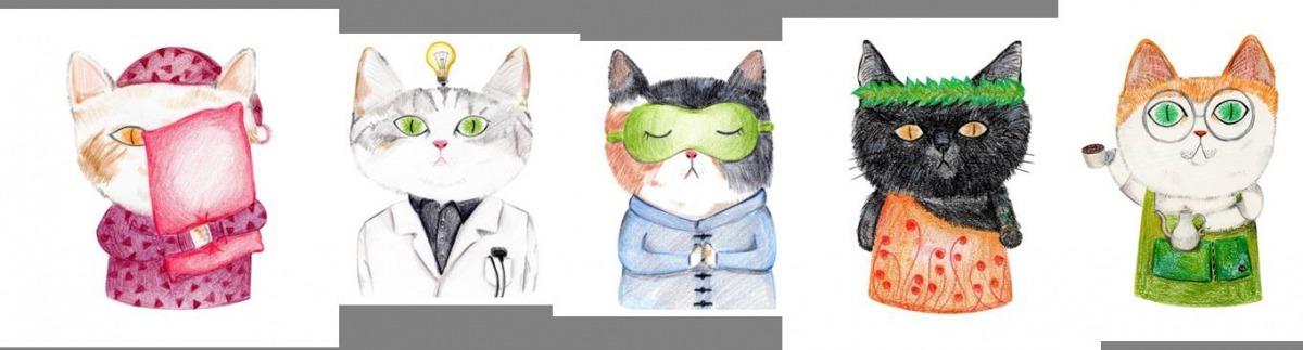 插畫藝術家李允榕將於4月13日至4月29日,展開一場「城市貓貓探尋大稻埕_插畫展」行動。台北市政府/提供