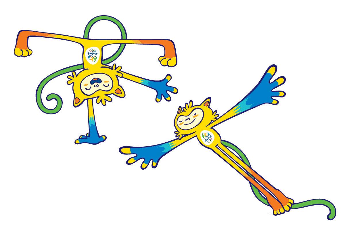 2016奥运吉祥物登场 融合巴西动物