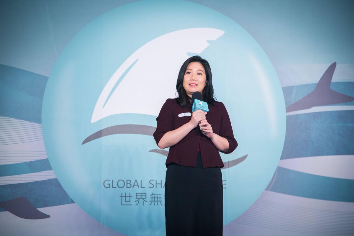 六福旅遊集團董事長莊豐如為台灣最早提倡無魚翅料理的五星級飯店業者。 WildAid/提供